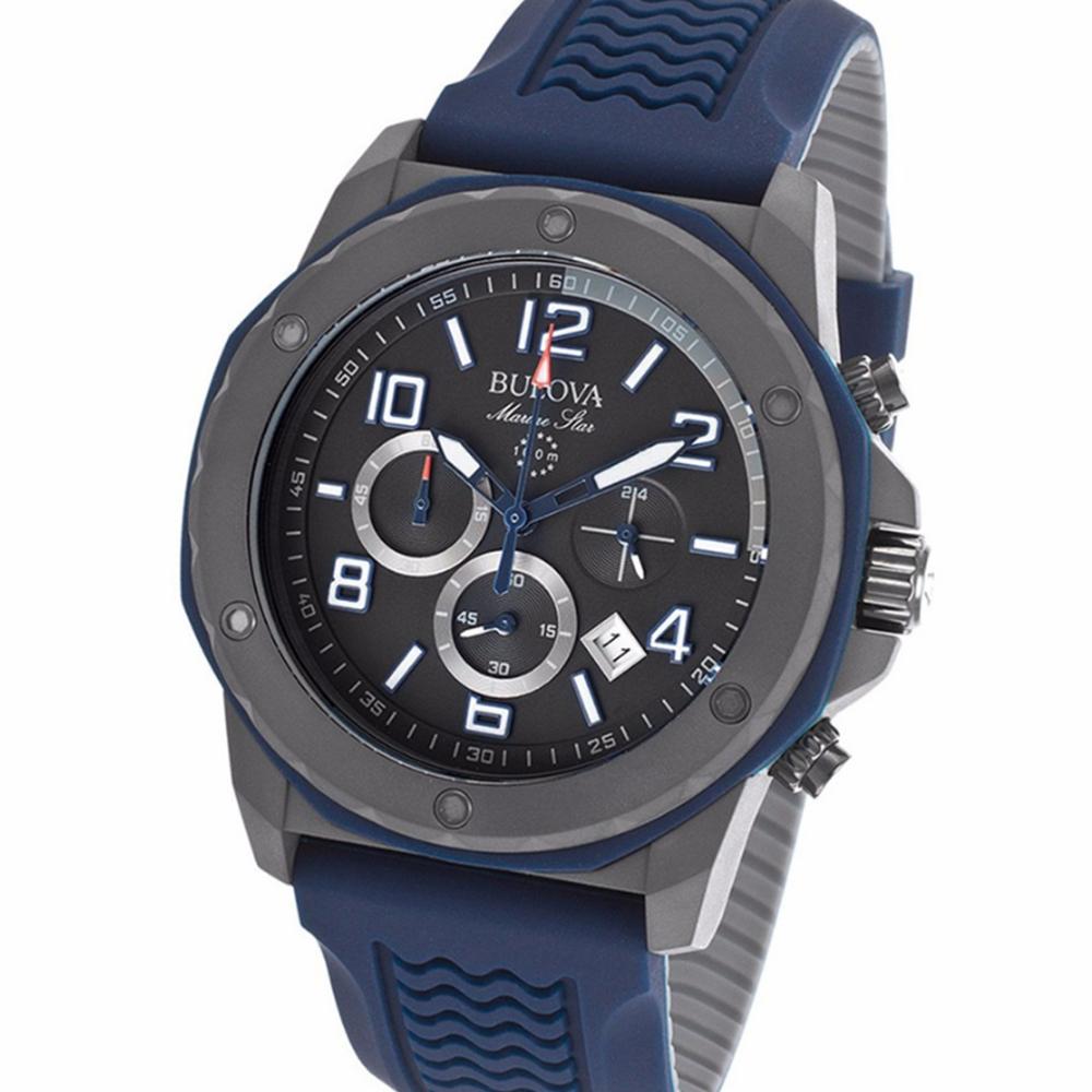 e88bbf7cd004 Reloj Hombre Bulova Marine Star Blue- 98b246 – BigTime
