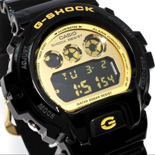 432a865dee10 Reloj Hombre Casio G Shock Gold Color With Black – DW-6900CB-1D