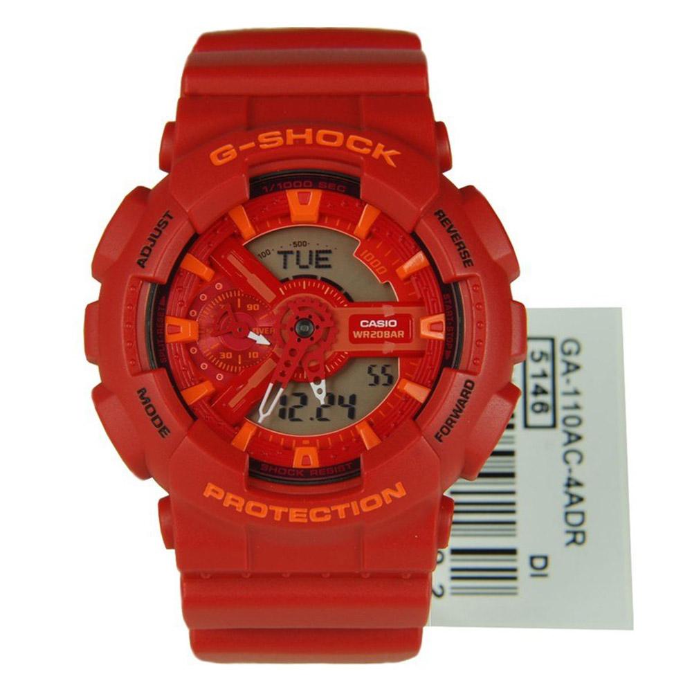 d9bbc90f3810 Reloj Hombre Casio G Shock Limited Model Color- GA-110AC-4ADR – BigTime