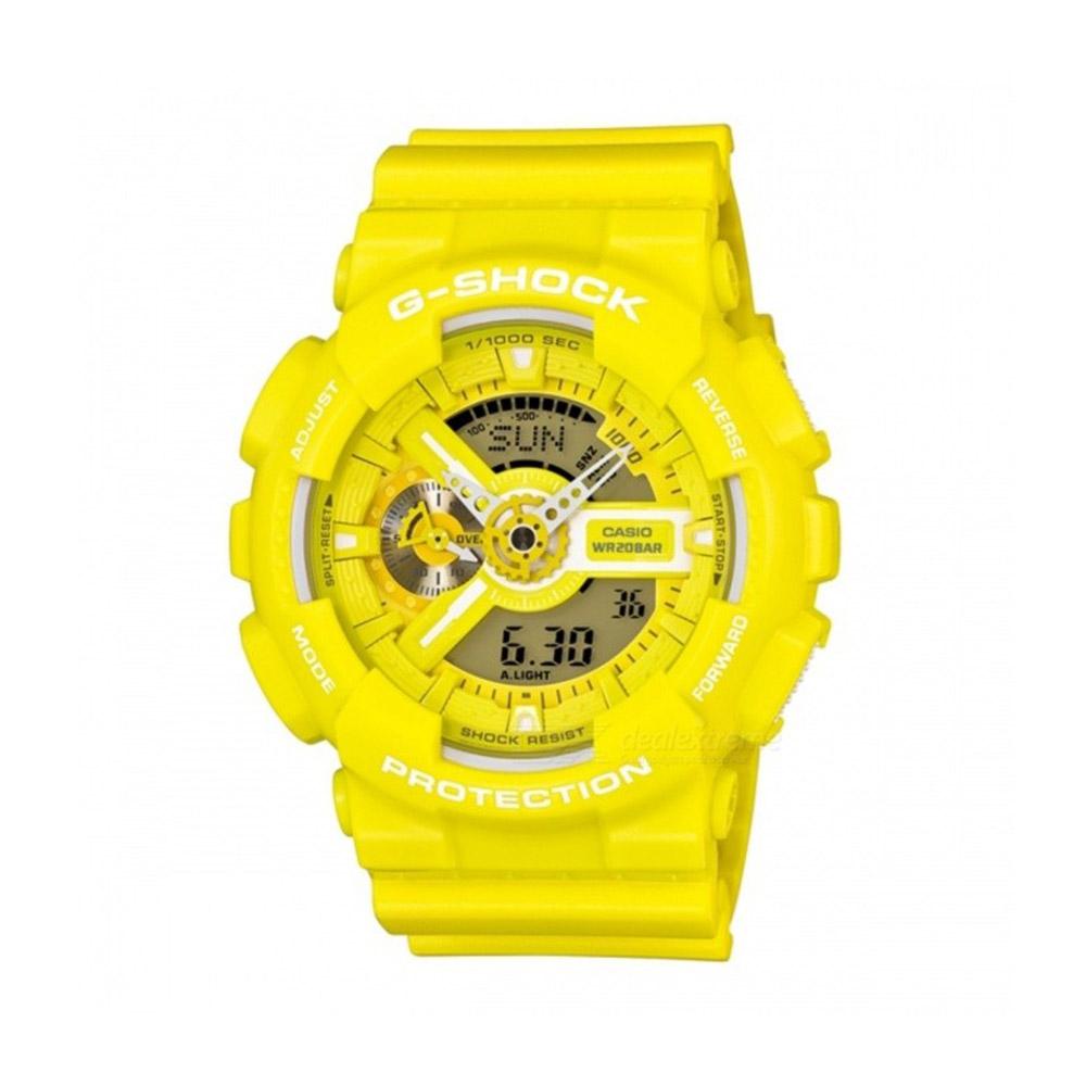 c312d38dbc1e Reloj Hombre Casio G Shock Luz led Hora Mundial GA-110BC-9ADR – BigTime