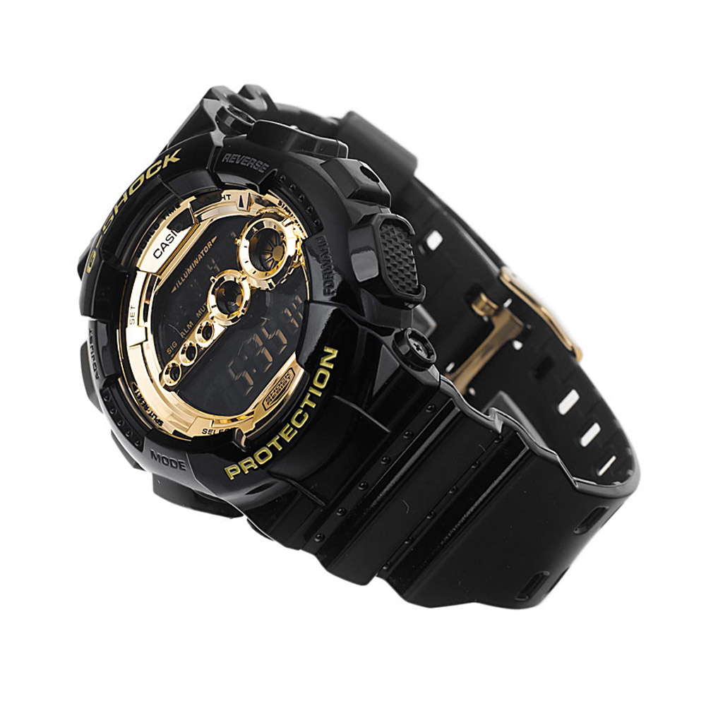 04b1fbb48514 Reloj Hombre Casio G-shock Black Gold- GD-100GB-1DR – BigTime